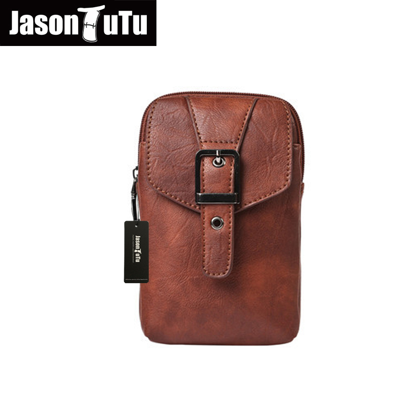 shoulder bags for men Fanny Waist Bag Cell/Mobile Phone Coin Purse Pocket Belt Bum Pouch Father Gift Multifunction Pocket B195 100% genuine leather men 5 5 6 5 inch cell mobile phone case bags hip design belt purse high quality waist hook coin purse bag