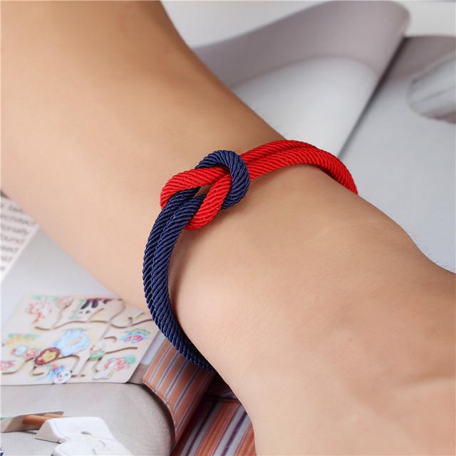 Navy style friendship bracelets