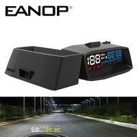 EANOP HUD Head Up Display Car Projector OBD II EOBD Alarm System Vehicle Mounted Speed Monitor