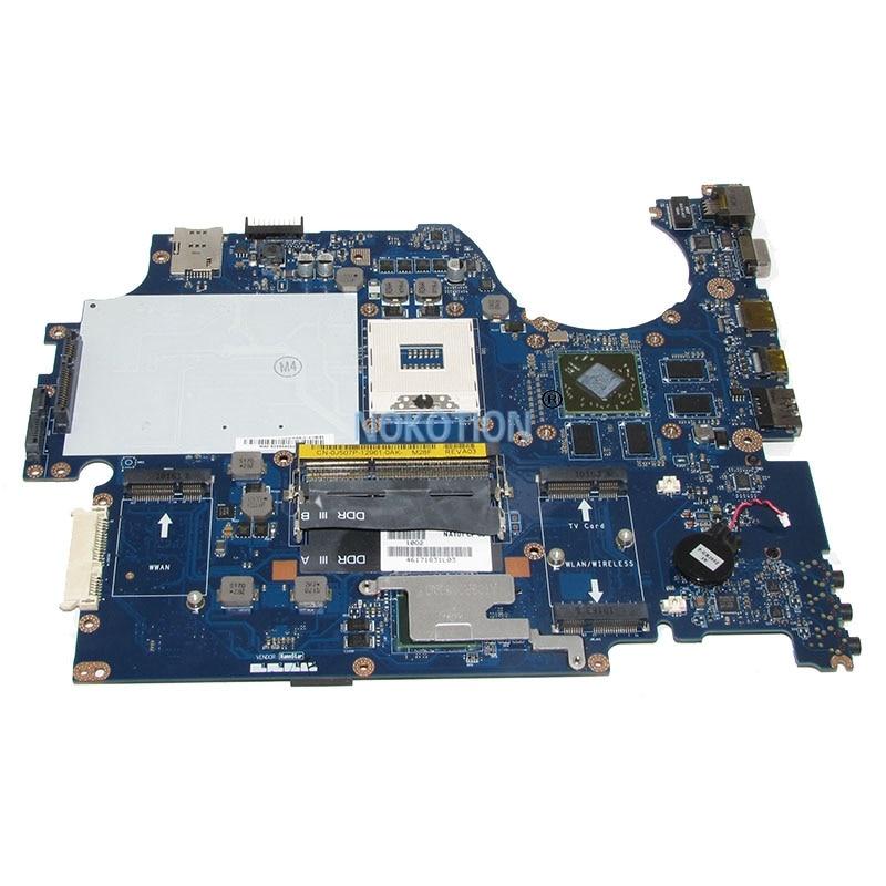 NOKOTION NAT01 LA-5153P CN-0J507P 0J507P J507P Laptop Motherboard For Studio 17 1747 Main Board HD4650 PM55 DDR3 nokotion 645386 001 laptop motherboard for hp dv7 6000 notebook pc system board main board ddr3