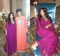 High Neck Beading on top Formal Occasion chiffon Dubai Saudi 2016 Kim Kardashian Kanfan Style evening Dresses 0635