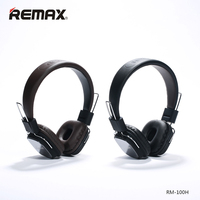 Original Remax 100H Stereo Headphones Soft Ear Pads Headset With Mic Micphone HIFI Sound For Iphone
