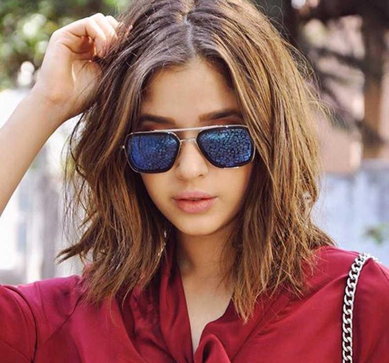2019 Fashion Avengers Flight Style Tony Stark Sunglasses Men  women Square Brand Design Sun Glasses  Oculos De Sol Retro