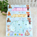 7 Piece /Set  Winter Baby Newborn Gift Set Long Sleeve O-Neck Thick Warm Baby Girls Clothing Newborn Baby Boy  Infant Underwear