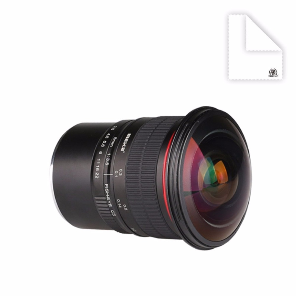 все цены на Meike 8mm f/3.5 Ultra Wide Fisheye Lens for Sony E-mount (NEX) and for Other Cameras онлайн