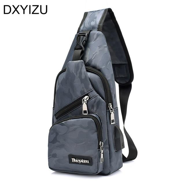 1d2c9565b7 Grey camouflage mochila sling bag business man handbags men shoulder  messenger bag designer crossbody bags motorcycle chest pack