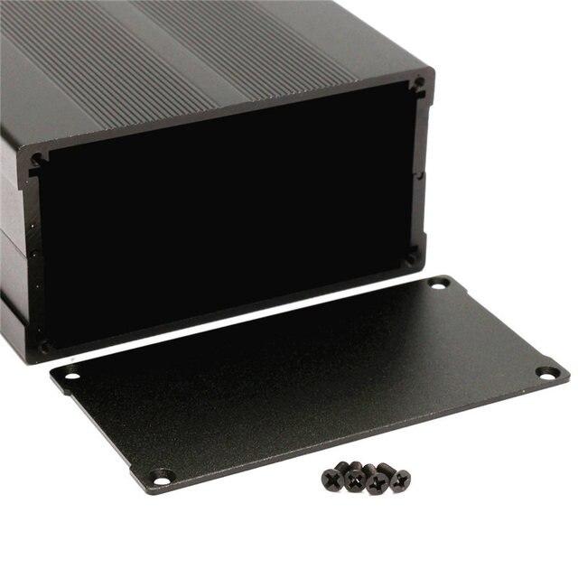 Boîtier de boîtier de Circuit imprimé en aluminium projet bricolage électronique 150*105*55 MM pour les blocs d'alimentation mobiles de carte de données