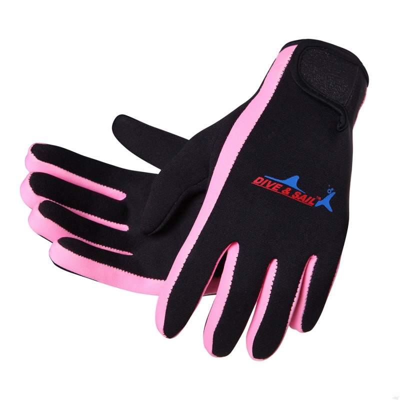 1.5mm Neoprene Swimming Diving Gloves Neoprene Anti-slip Glove With The Magic Stick For Winter Swimming Warm