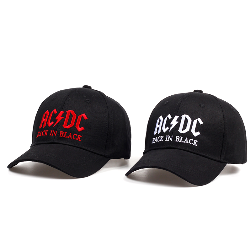 VORON women men  Fashion baseball cap ACDC big bone embroidery dad hats outdoor sports hat unisex casual caps wholesale new 2017 fashion unisex cap bones baseball cap snapbacks hat simple hip hop cap casual sports female hats wholesale