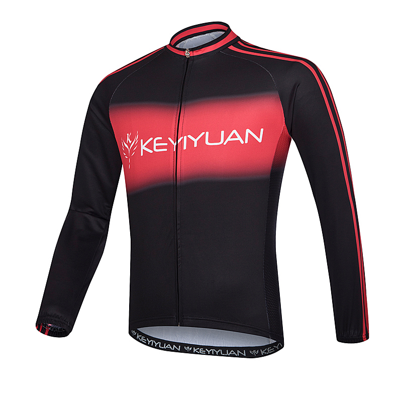 Detail Feedback Questions about KEYIYUAN male cycling long sleeves tops  male summer sportswear mountain bike jerseys on Aliexpress.com  aea26e611