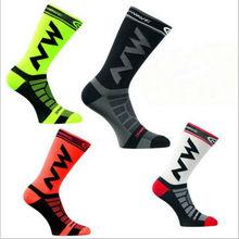 NEW Mens Womens Riding Cycling Socks Bicycle sports socks Breathable Socks Basketball Football Socks Fit for 39-46