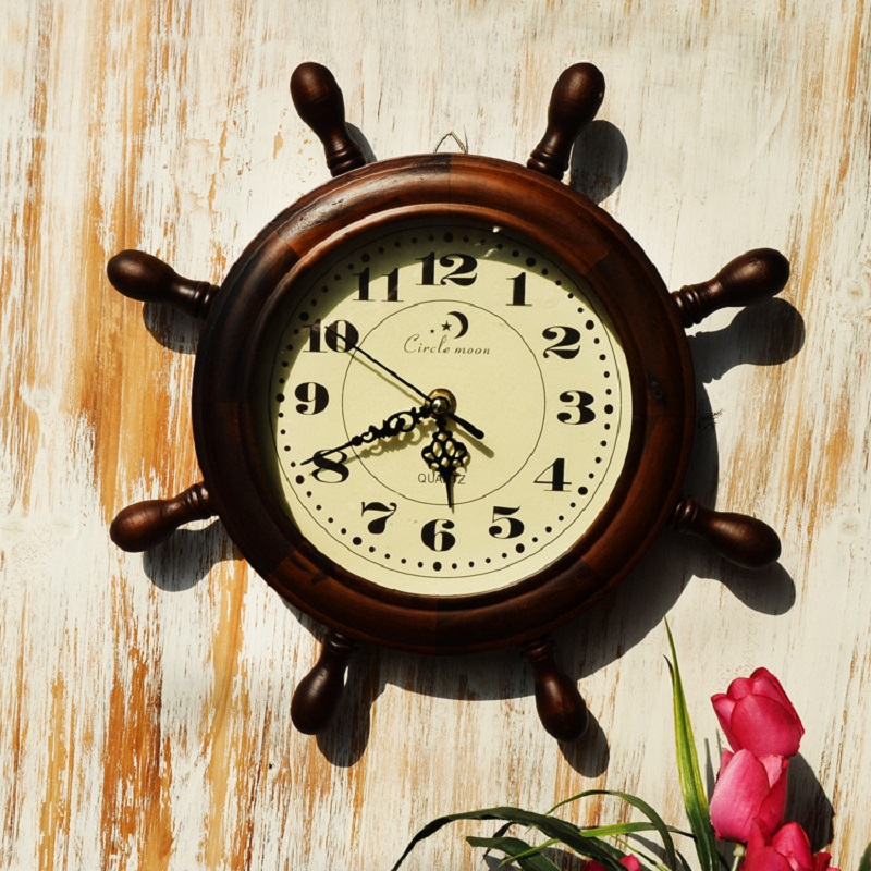 Saat Reloj Wooden Wall Clock wall decorative wall clocks Relogio de ...