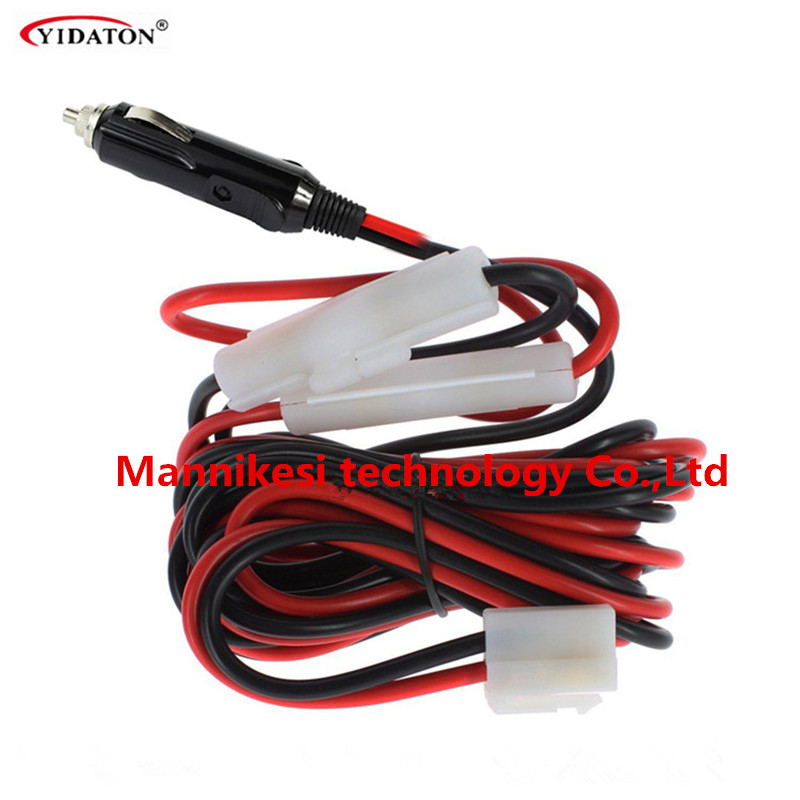 12V DC power cord cable cigarette Lighter for QYT KT-8900 KT-8900D KT-<font><b>7900D</b></font> Yaesu FT1907 FT7800R FT7900R FT8900 mobile radio image