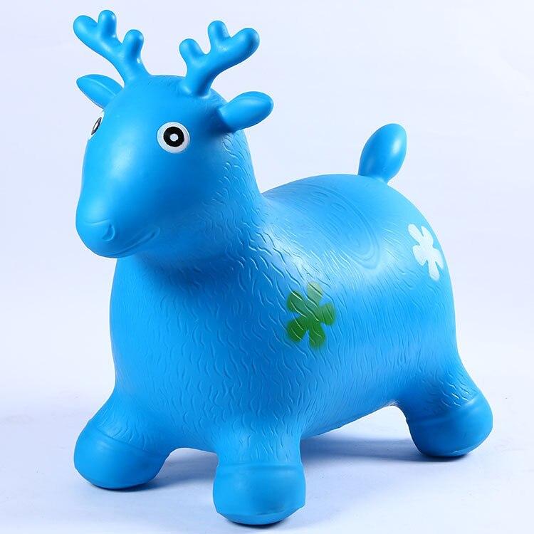 Un fabricant de jouets pour enfants vendant des bovins en bambou, des moutons, des chevaux sautants, des balles gonflables pour enfants