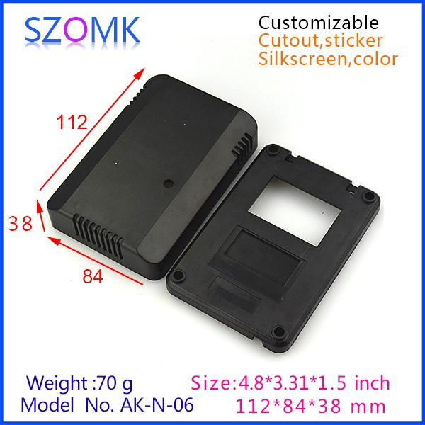 1 piece free shipping plastic box for electronic project in Black ...