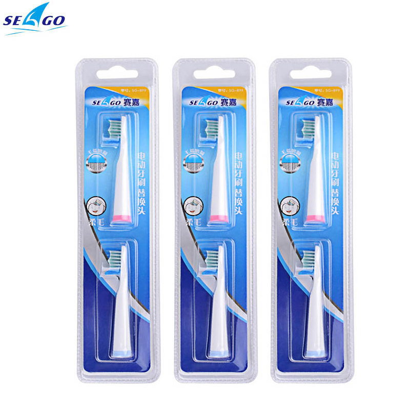 3 pcs DuPont Bristles ToothBrushes Heads Replacement Toothbrush Heads For Oral Care SG-610 / SG-E8 / SG-909 / SG-917 / SG-908 truevis sg 300
