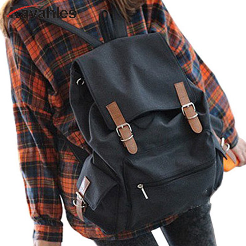Unisex Fashion Vintage Casual Canvas Backpack school bag large Rucksack trolley Bag 4 Colors holiday sale wholesale 4-YHZ252 casual canvas satchel men sling bag