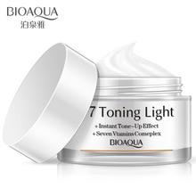 BIOAQUA Brand V7 Vitamins Whitening Cream Effective Repair Rough Skin Smooth Face