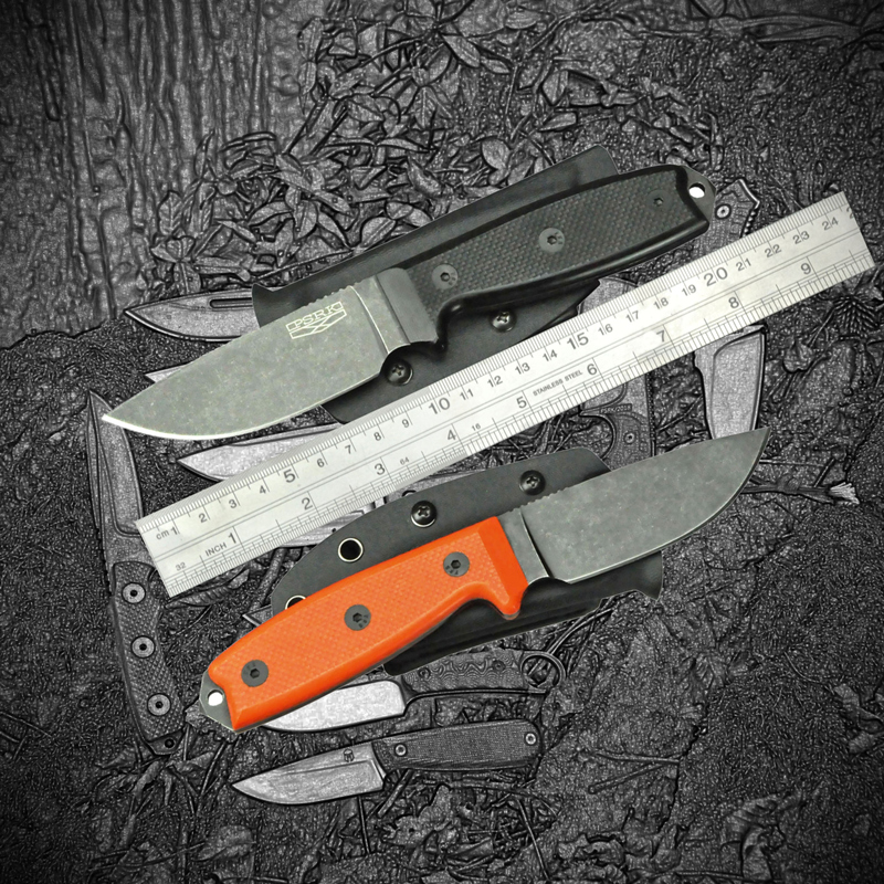 PSRK E 3 Series Fixed Knife YTL122 Steel G10 Handle Fixed Blade Knife outdoor survival camping hunting Adventure Tool K sheath