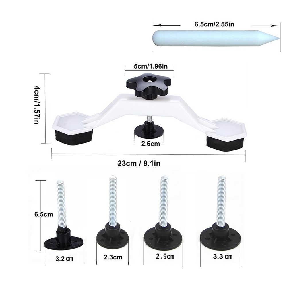 Zestaw narzędzi PDR zestaw z tworzywa sztucznego most ciągnięcie Dent narzędzie do usuwania dla Paintless Dent narzędzie do naprawy samochodów pojazd do naprawy karoserii narzędzie
