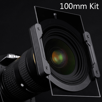 Nisi Square Filter Holder Brackets Blade System Kit 100mm*100mm Holder+Adapter Ring+ ND1000 Filter+Soft nano GND(8)0.9 for DSLR zomei 6in1 filter kit 67mm ring holder 150x100mm gradual nd4 full nd2 nd4 nd8 neutral density square nd filter for cokin z
