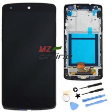 Black OEM For LG Google Nexus 5 D820 D821 LCD Display + Touch Screen with Digitizer + Bezel Frame + Tools Free ShIpping