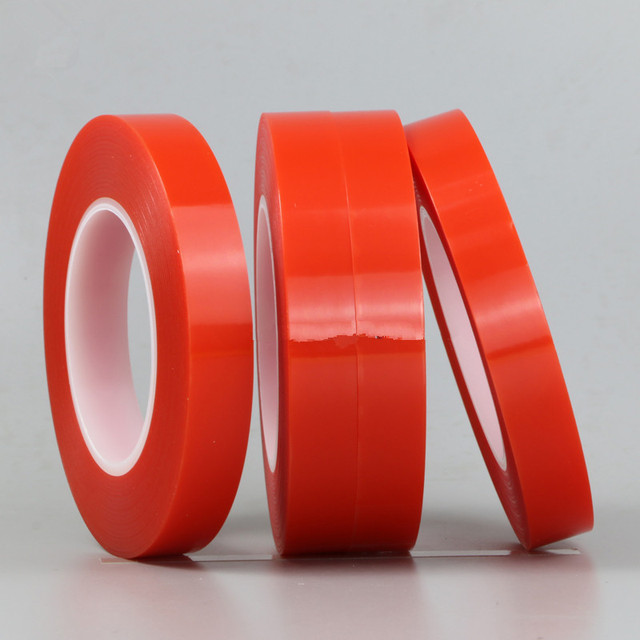 1 Roll 25M Heat Resistant Double-sided Transparent Clear Adhesive Tape Sticker 2mm 3mm 4mm 5mm 6mm 8mm 10mm 15mm 20mm