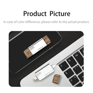 Image 2 - DM CR016 Blitz Micro SD/TF OTG Kartenleser USB 3.0 Speicher Mini Kartenleser für iPhone 6/7/ 8 Plus iPod iPad OTG Kartenleser