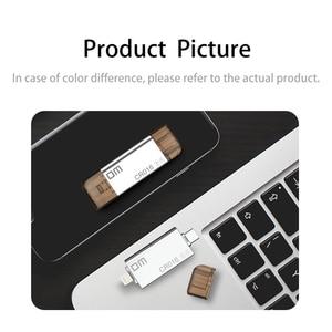 Image 2 - DM CR016 Lightning Micro SD/TF OTG Card Reader USB 3.0 Memory Mini Cardreader for iPhone 6/7/8 Plus iPod iPad OTG Card Reader