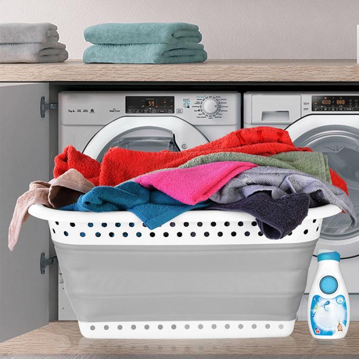 Casa de banho produto cesta de lavanderia