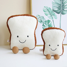 20/30/45cm New Creative Toast Bread Short Plush Toys Stuffed Doll Toy Soft Pillow Home Children Gift