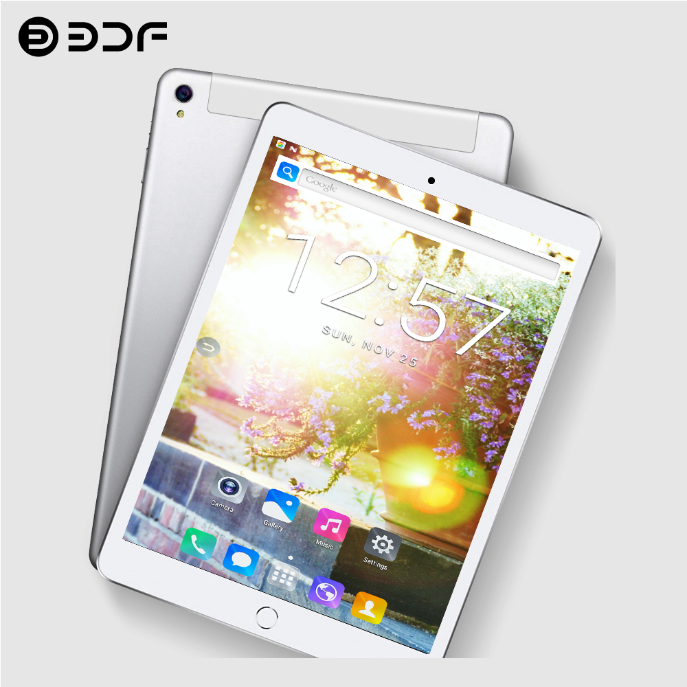 10 Inch Android 7.0 Tablet PC Octa Core 2G RAM 32G ROM WIFI Sim 3G/4G Phone Call LTE 2.5D Glass Material Screen 10.1 Tablets