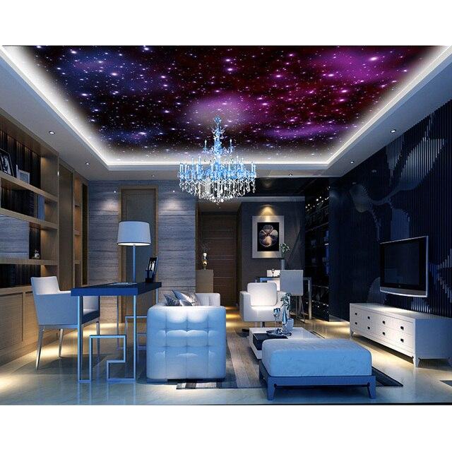 Decke Tapete 3D Fantasie Sterne Sky Wandbilder Für Wohnzimmer ...