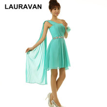 turquoise image one shoulder chiffon semi formal simple dress short green sweet  16 bridesmaid dressess for 89446f308b31
