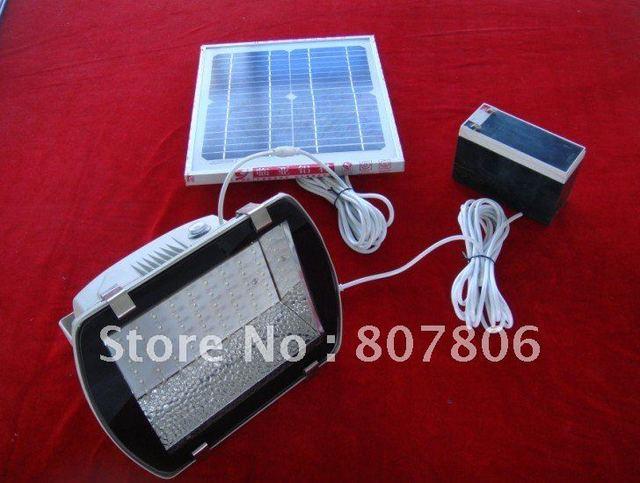 solar led light,12V 8AH lead acid.20w 18vsolar panel ,204leds,led light, free shipping,led flood garden light,solar home system,