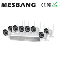 Mesbang 960P 8ch camera ip wifi hd cctv camera kits with 1TB HDD P2P plug and play free shipping by Fedex DHL