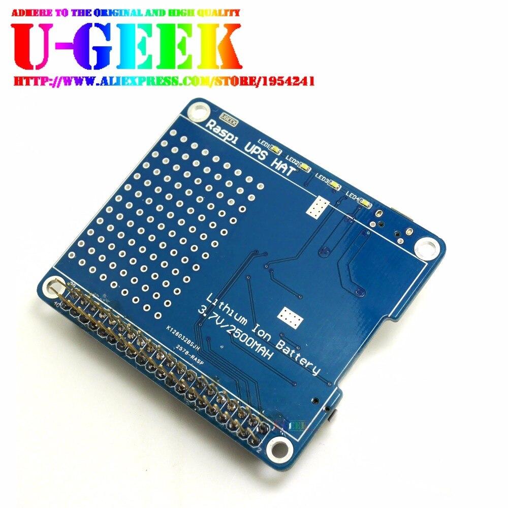 UGEEK UPS HAT Board for font b Raspberry b font font b Pi b font font