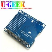 Big sale UGEEK UPS HAT Board for Raspberry Pi 3 Model B/2B/B+ | Raspberry Pi Battery Adapter | Power Supply | Power Source Pi 3