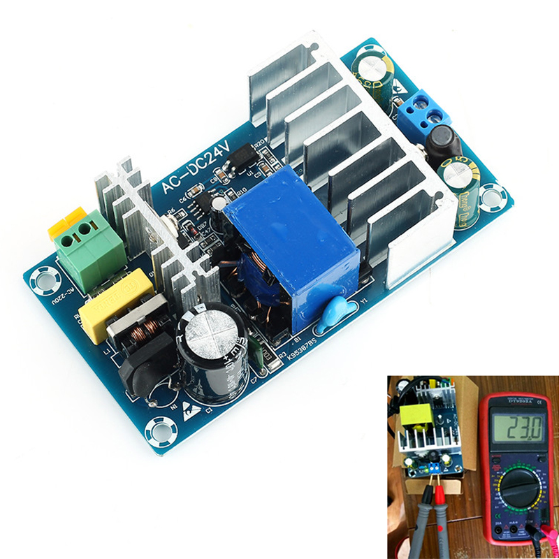 100W 4A To 24V 6A DC Switching AC DC Power Supply Module Board Stable High Power AC DC Power Module Transformer 50HZ/60HZ