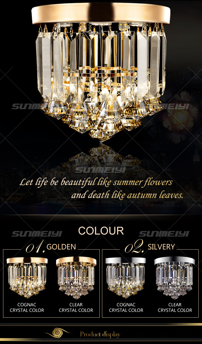 Crystal Ceiling Lights 01