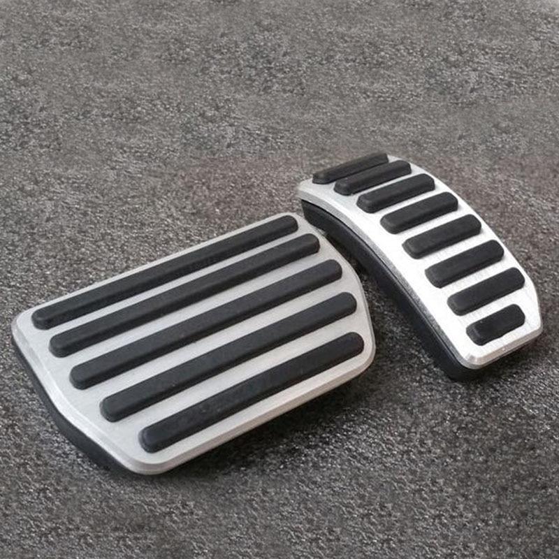 Автомобильные аксессуары для 2009- VOLVO XC60 S60 S80L S60L V60 V70 алюминий на акселераторе газа ног модифицированные Педали колодки