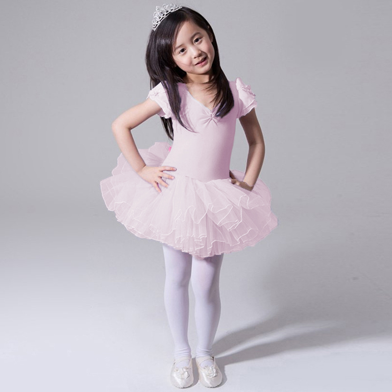 Girls Ballet Dress Girls Dance Clothing Kids Ballet Costumes Children Leotard Dancewear Latin Dance Vestidos Ballerina Clothes