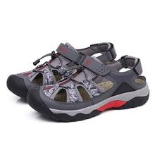 Men Camouflage Sandals Man Hollow Slipper Male Flats Shoes Slip On Flat Footwear Outdoor Sandalia Casual Flip Flops Sandal