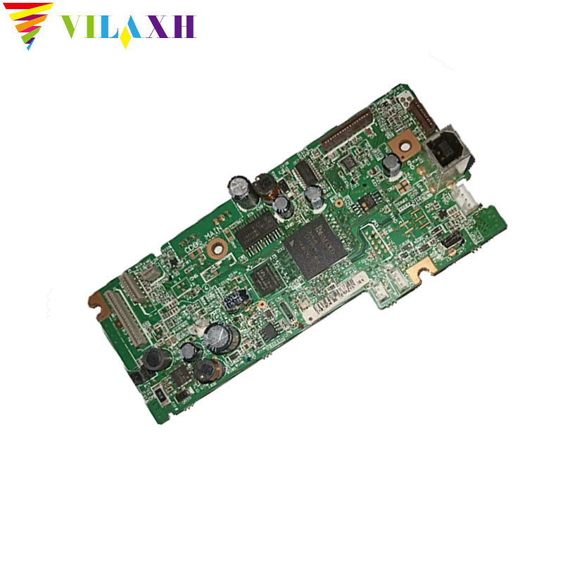 Vilaxh For Epson l555 Mainboard 1pcs used For Epson l555 main board Formatter Board Logic printer parts in Printer Parts from Computer Office