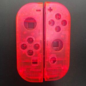 Image 5 - Clear Behuizing Vervanging Shell Case Cover & Kleurrijke Een B X Y Knop Voor Nintendo Switch Controller Vreugde Con