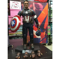 The Avengers 2 Captain America 1/6 Scale movable PVC Action Figure Collectible Model Toy Doll 32cm KT1320