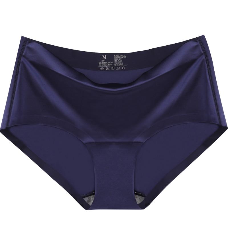 Hot Ice Sale Ice Silk Quick Dry One Piece Women Seamless Large Plus Size Sexy   Panties   Briefs Underwear
