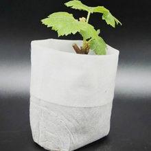 100 pcs Potes de Viveiro De Mudas-Levantando Sacos tecidos sacos Do Berçário Do Jardim Suprimentos # A4 H0VH shipping # queda