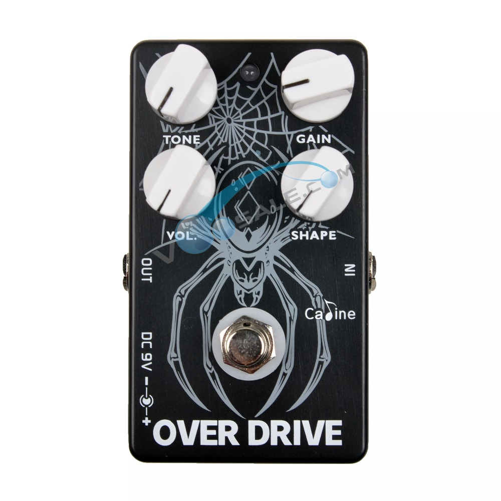 Caline CP 65 Overdrive Guitar Pedal Effect 9V Guitar Accessories Over Drive Effect Pedal Guitar Parts For Guitar BASS Overdrive