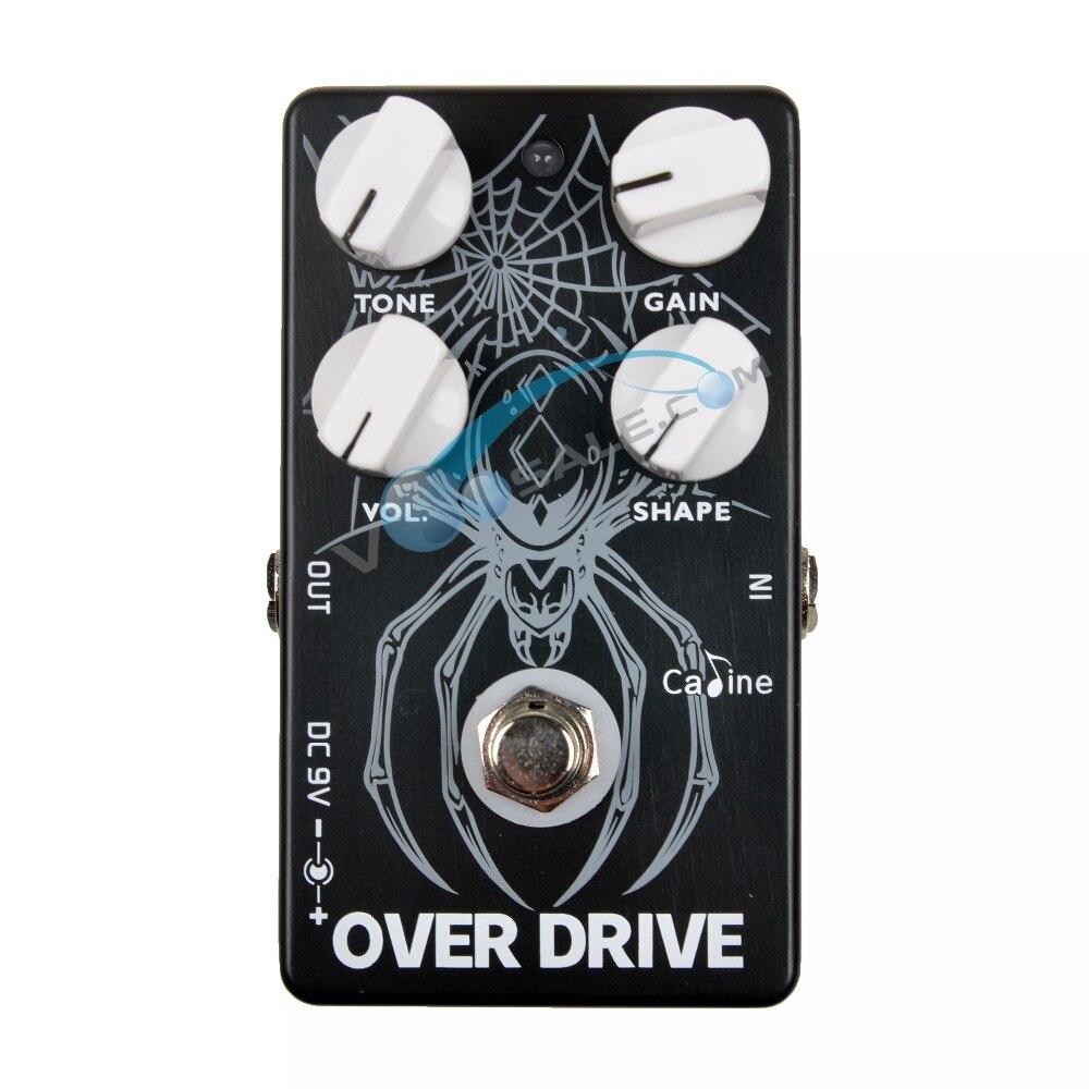 Caline CP-65 Overdrive Guitare Pédale Effet 9 V Guitare Accessoires Over Drive Effet Pédale Guitare Pièces Pour Guitare BASSE Overdrive
